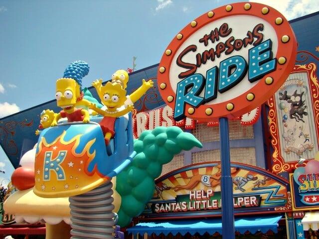 Atração da Springfield em Orlando