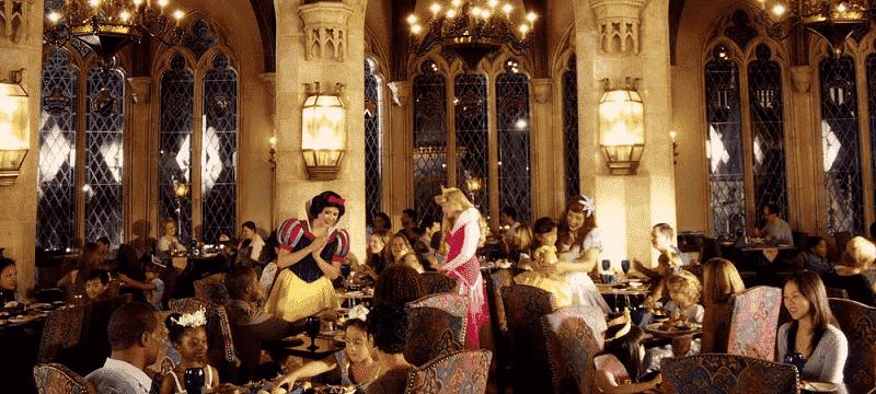 Restaurante Cinderella's Royal Table