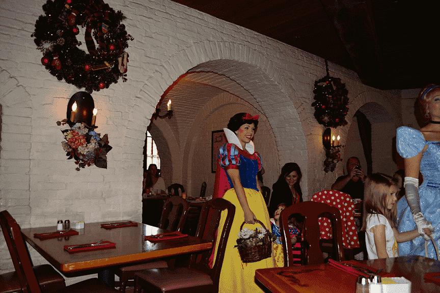 Restaurante Akershus Royal Banquet Hall no Parque Disney Epcot