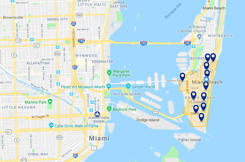 Onde ficar em Miami: melhores hotéis