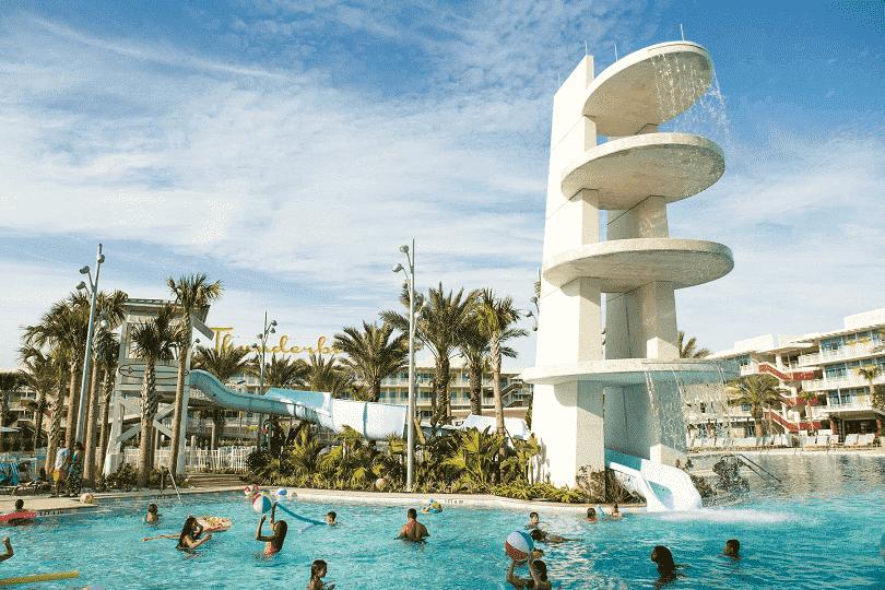 Hotel Cabana Bay no complexo Universal
