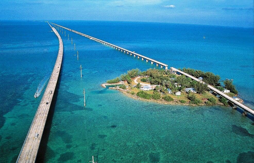 Descubra as lindas ilhas do conjunto Florida Keys