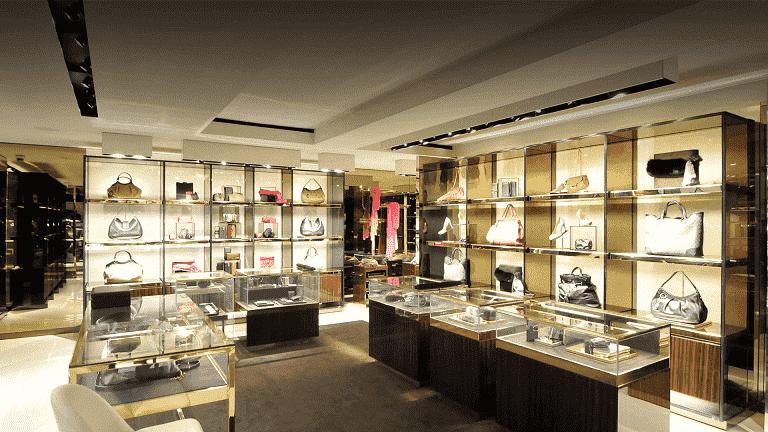 Endereços de lojas da Gucci em Miami e Orlando