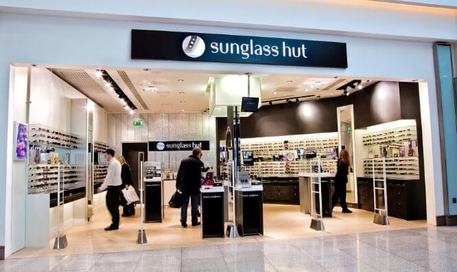 Lojas Sunglass Hut em Miami e Orlando