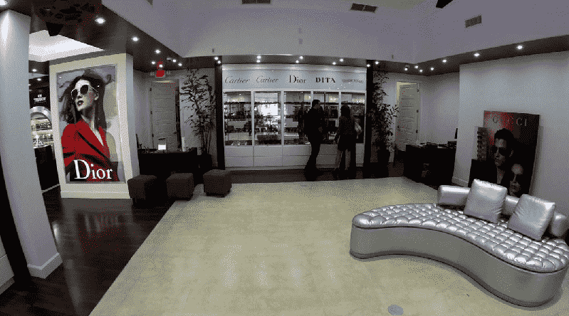 Loja Lexor em Miami