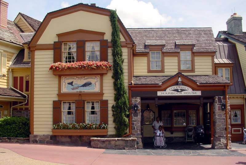Restaurante Columbia Harbor House da Disney Orlando