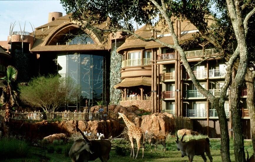 Hotel Disney´s Animal Kingdom Lodge em Orlando