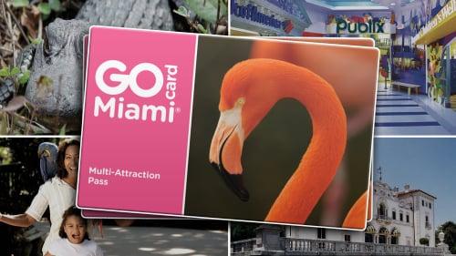 Economize 55% no ingresso do Vizcaya e de outras atrações usando o GoCard Miami