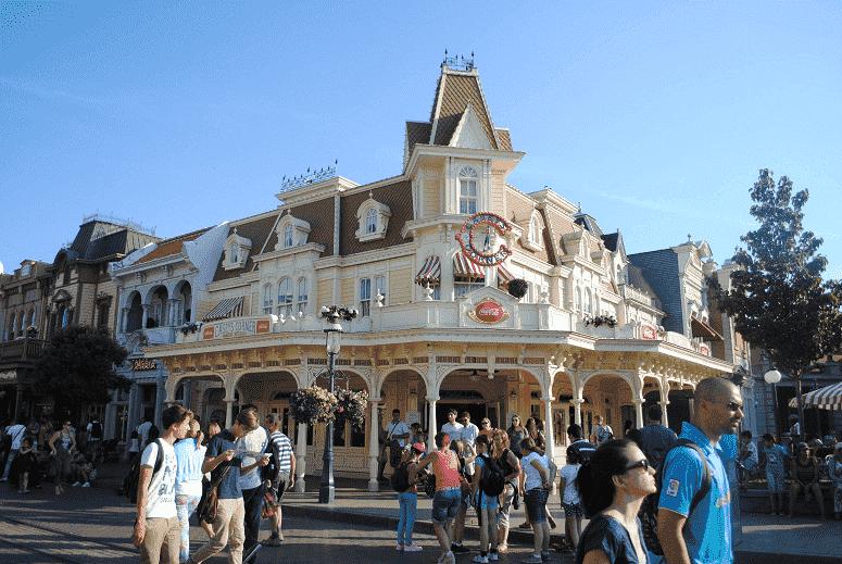 Restaurante Casey's Corner na Disney em Orlando