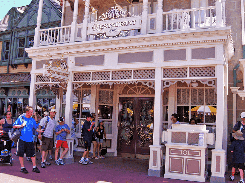 Restaurante The Plaza no Disney Magic Kingdom