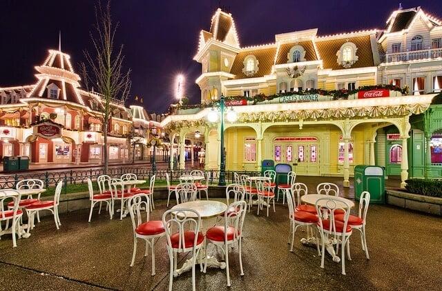 Restaurante Casey's Corner na Disney Orlando