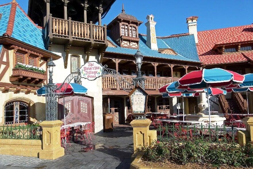 restaurante Pinocchio Village Haus disney