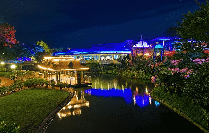 Restaurante Tomorrowland Terrace no Disney Magic Kingdom