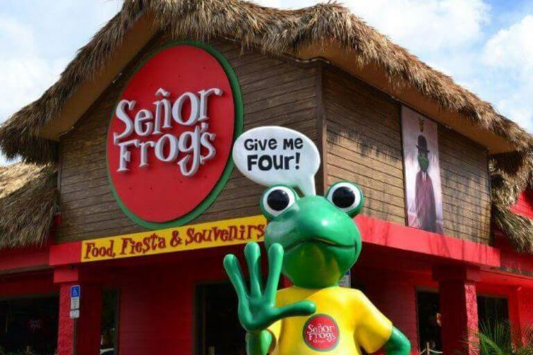 Senor Frogs International Drive em Orlando