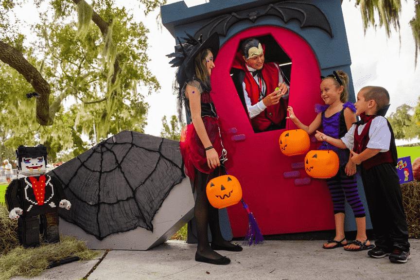 Halloween no Legoland em Orlando