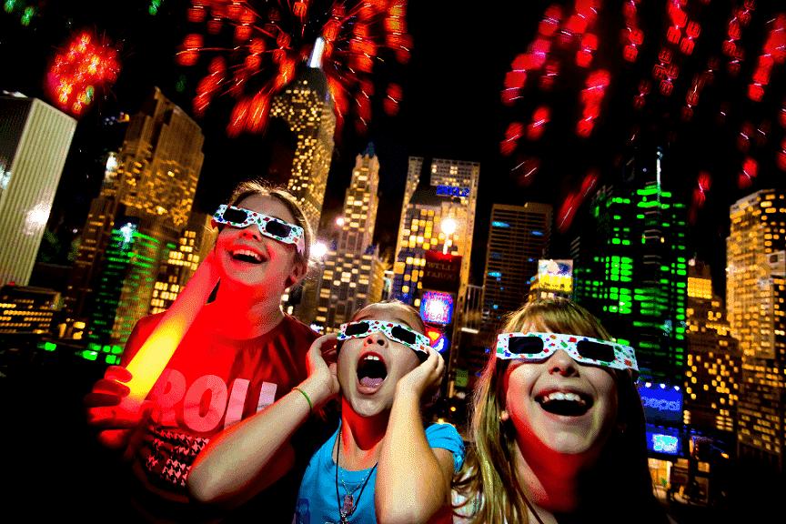 Año Nuevo en el Parque Legoland