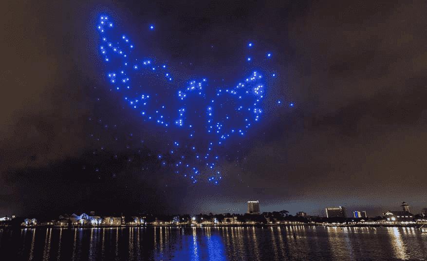 Celebraciones navideñas en Disney Springs en Orlando