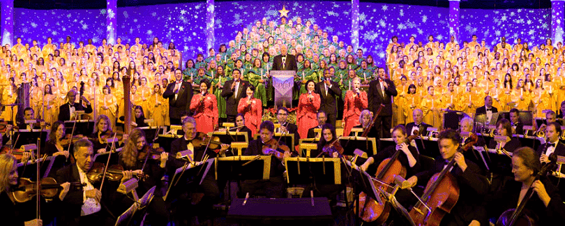 Celebraciones navideñas en Epcot en Orlando