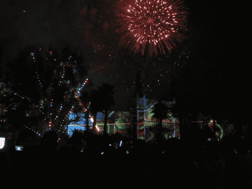 Año Nuevo en los Studios Hollywood de Disney