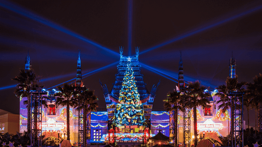 Celebraciones navideñas en los Studios Hollywood