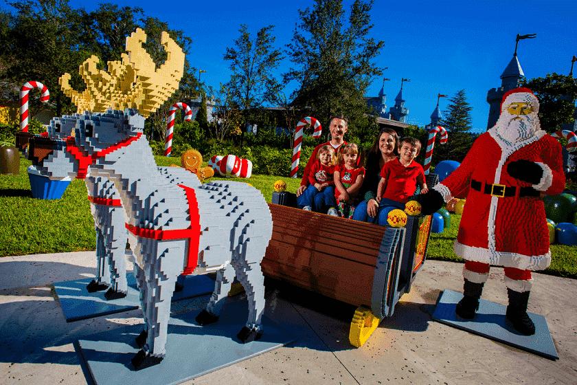 Navidad en el Parque Legoland