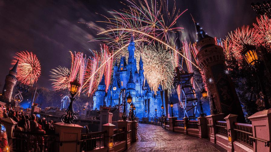 Año Nuevo en Magic Kingdom en Disney