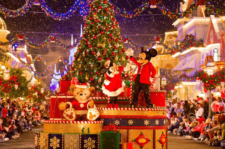 Fiestas y celebraciones navideñas en los Parques Disney