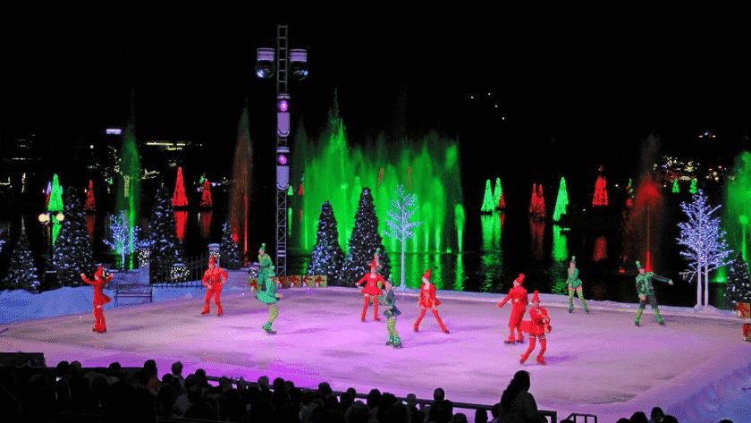Navidad en Sea World en Orlando