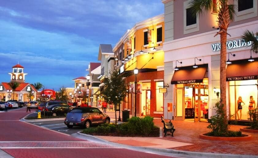 Shopping Winter Garden Village em Orlando
