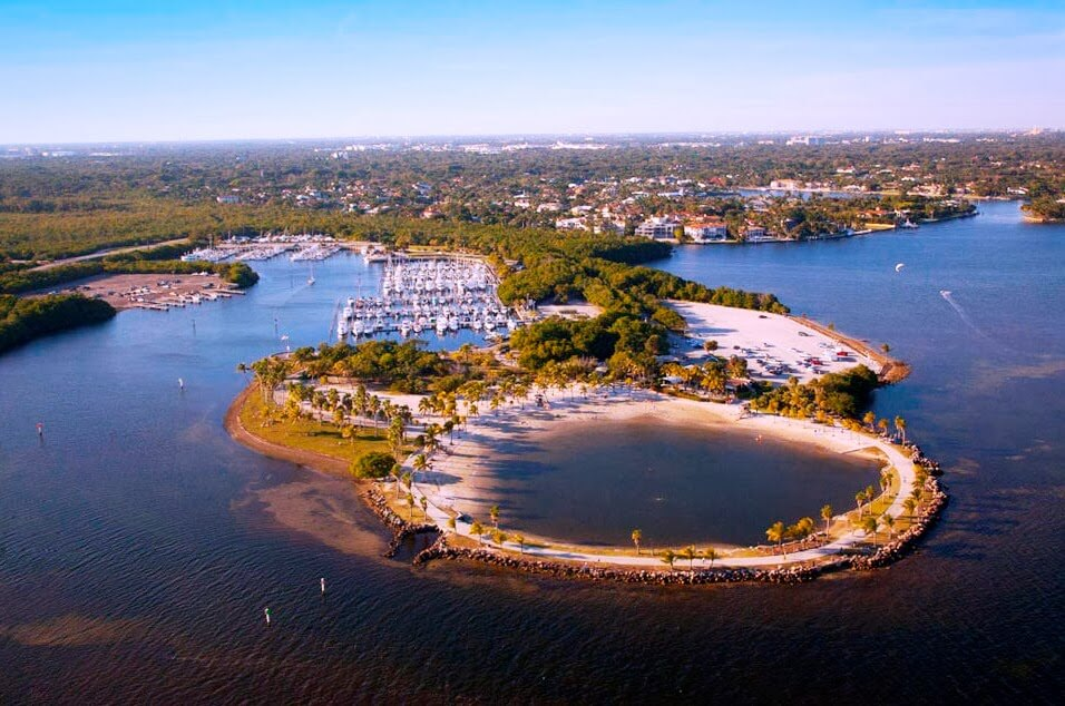 Matheson Hamock Florida Praia