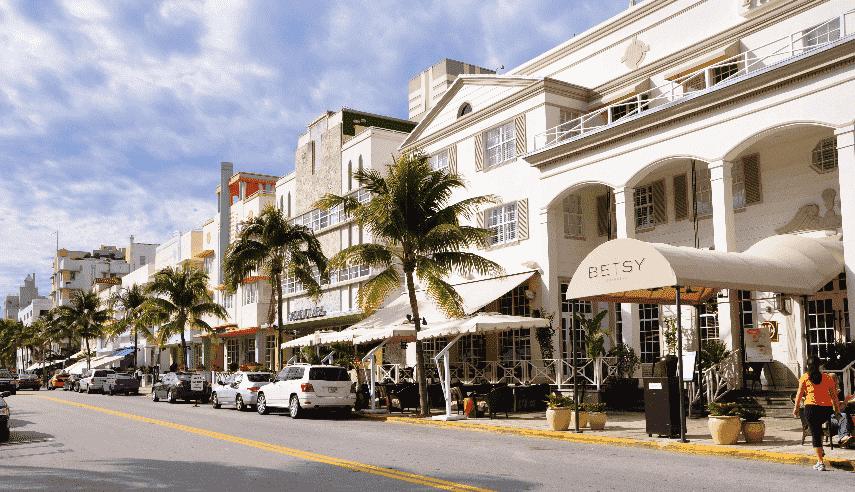 Primeiro dia em Miami