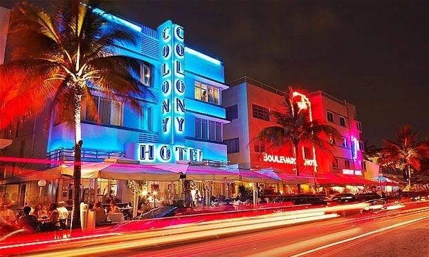 Miami Beach Ocean Drive Roteiro