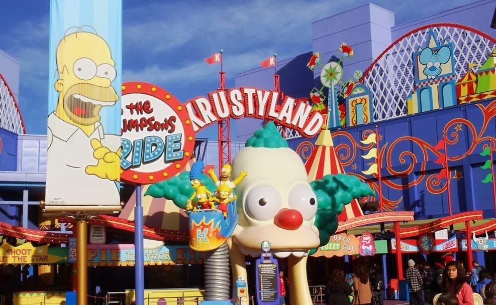 Parque Universal Simpsons