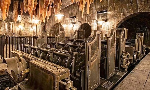 Harry Potter and Scape From Gringotts