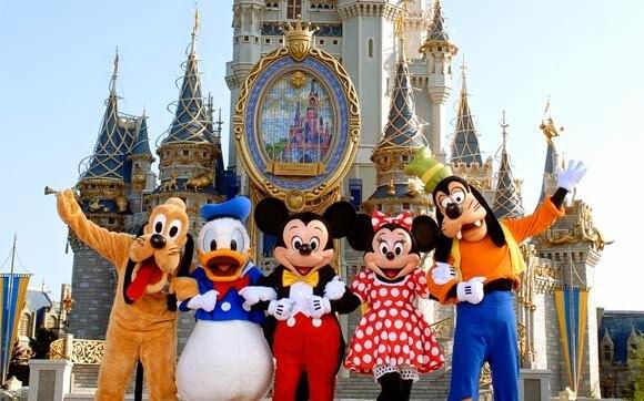 Parques em Orlando Disney