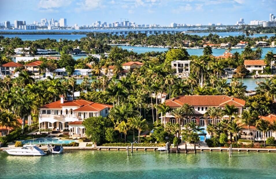 Biscayne Bay Miami Casas