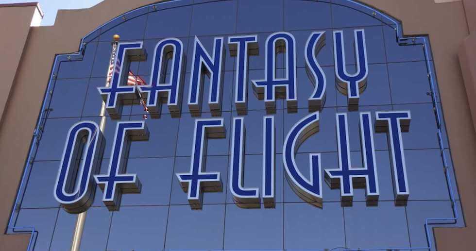Fantasy of Flight em Orlando | Museu de aviões