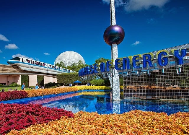 Parque Disney Epcot Center em Orlando