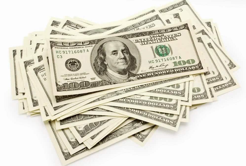 Dinheiro Dólar Estados Unidos