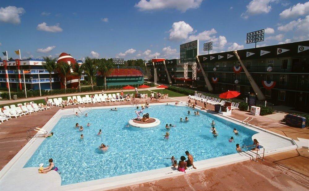 Hotel Disney's All-Star Sports Orlando Piscina