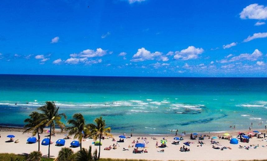 Regiões ao norte de Miami Beach - Hollywood Beach