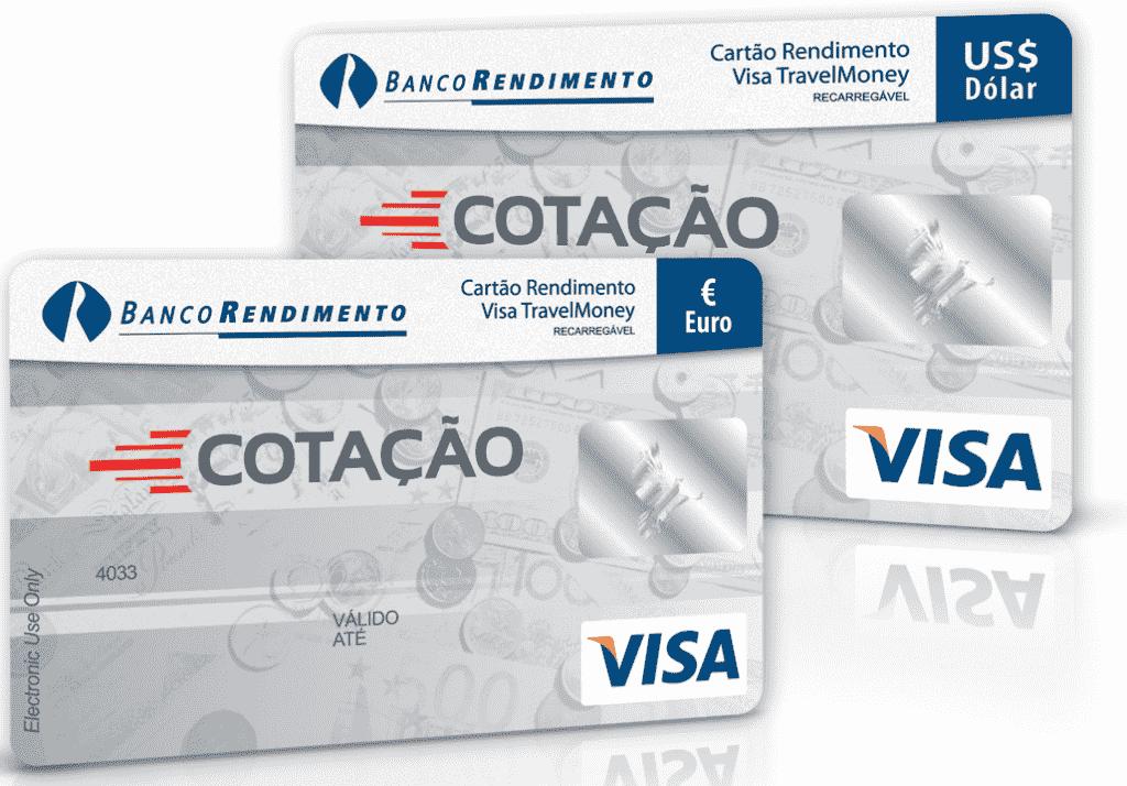 Cartão Travel Money Dólar da Cotação