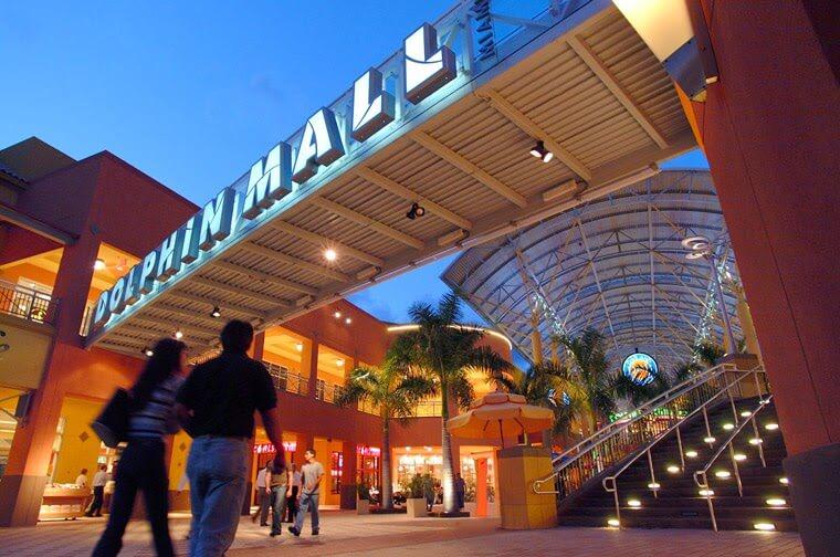 Shopping Dolphin Mall Horario Miami