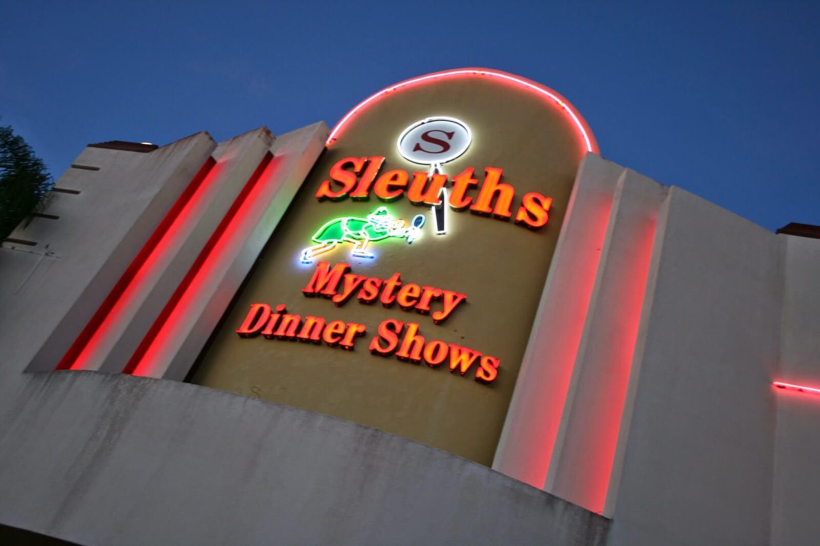 Sleuths Mystery Dinner Shows | Orlando