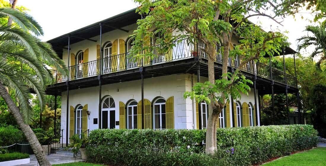 A casa de Ernest Hemingway em Key West