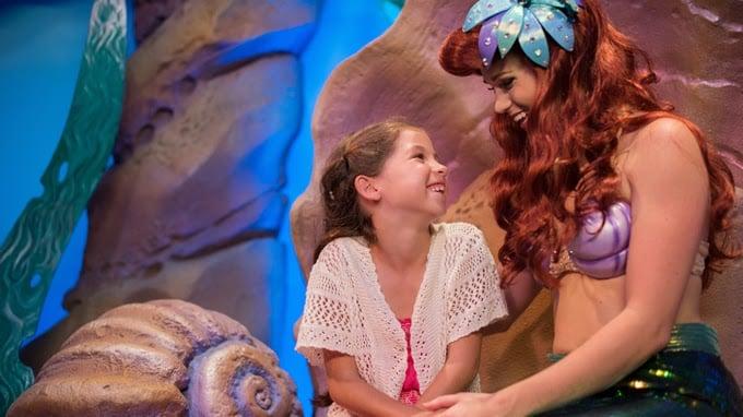onde encontrar a princesa Ariel Orlando