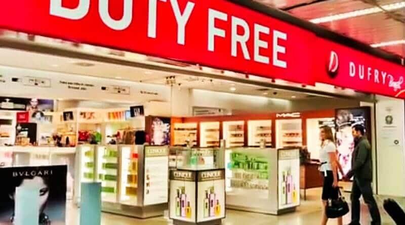 Cota de 500 dólares do Free Shop no Brasil