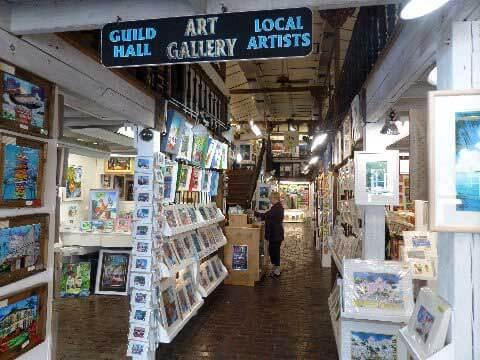 Guild Hall Gallery em Key West na Flórida