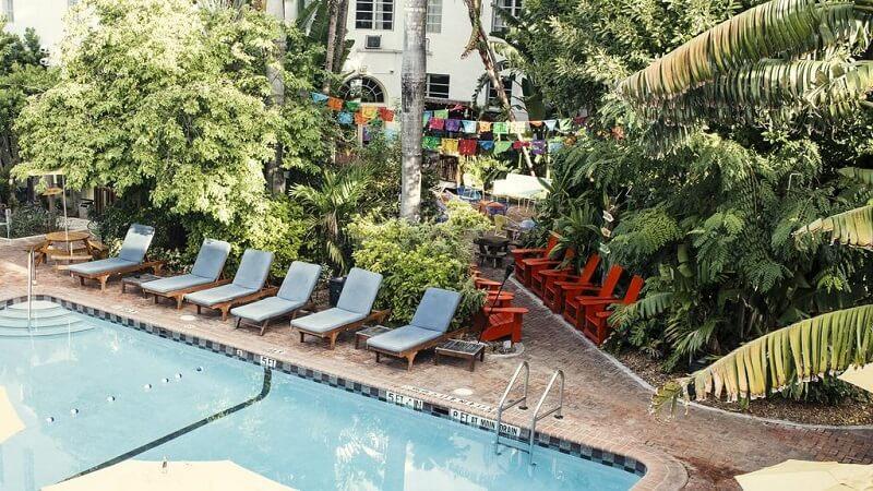 Jardim do Freehand Miami Hostel
