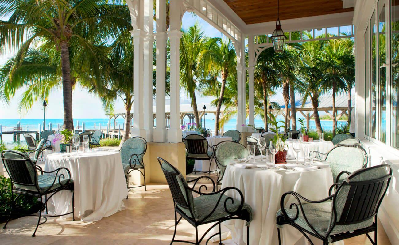 Restaurante ao ar livre em Key West
